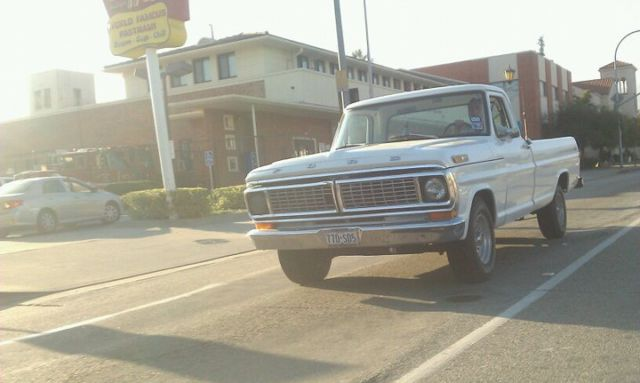 Ford F100 Custom Truck 1970 Automatic C6 Transmission Ford Fe V8 Engine For Sale Photos