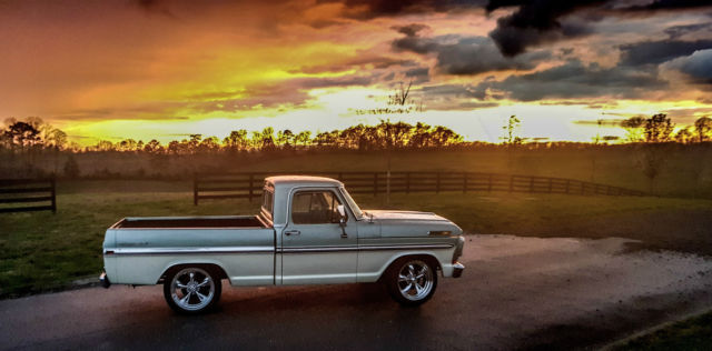 ford f100 short wheel base 351w two tone lowered 20 inch ...