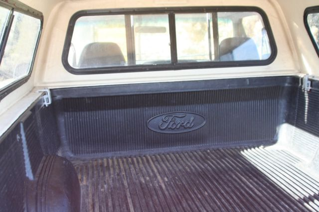 Ford F150 Xlt 5 Spd Manual Trans 4 9 No Rust Bed Liner 2 Gas Tanks