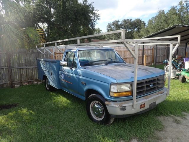 1992 Ford F-250 utility box work truck stahl