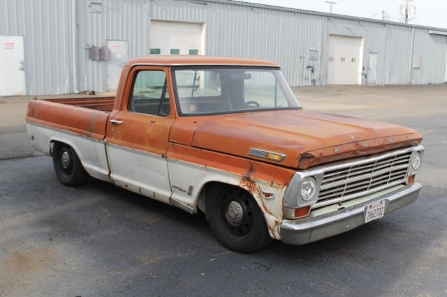 Ford F250 Short Wide Crown Vic Swap California Patina NR