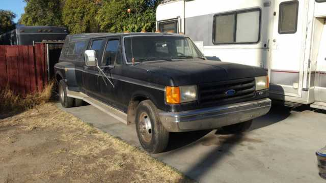 Ford F350 1988 Dually 460 F I 5 Speed Runs For Sale Photos