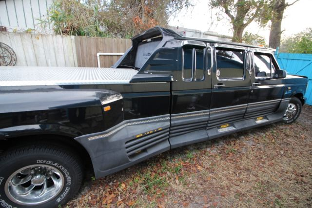 Ford F350 Crew Cab Extended Dually 88 7 3 Diesel Autographed Custom