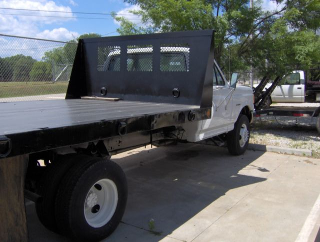 Ford F350 SUPER DUTY 1989 Flatbed for sale: photos, technical specifications, description