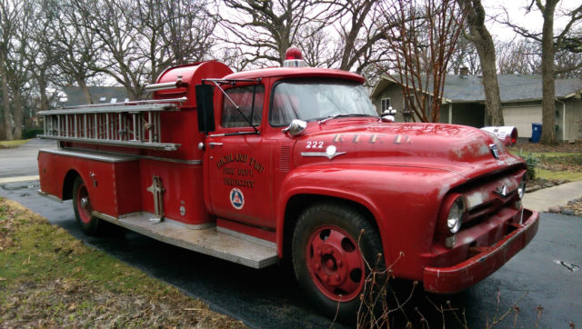 1956 Ford F-100 Fire Truck