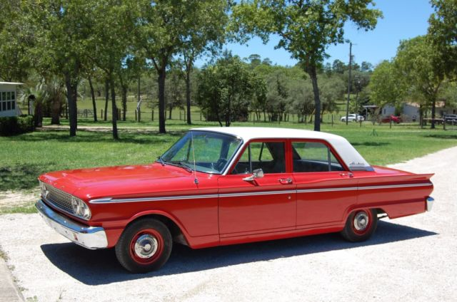 1963 Ford Fairlane 4 Door >> Ford Fairlane 1963 4 Door 6 Cylinder For Sale Photos Technical