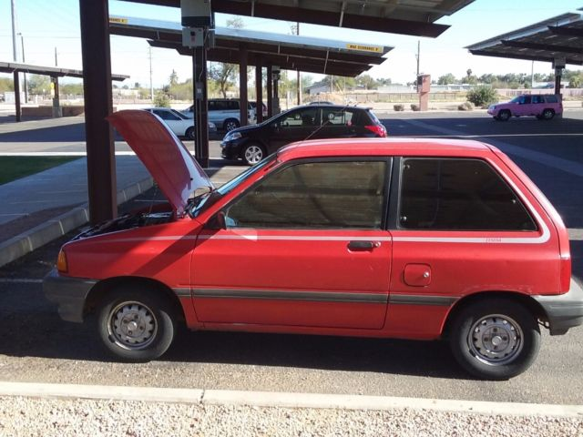 1989 ford festiva lx automatic for sale photos technical Ford Ranger Manual Transmission Identification ford festiva 1989