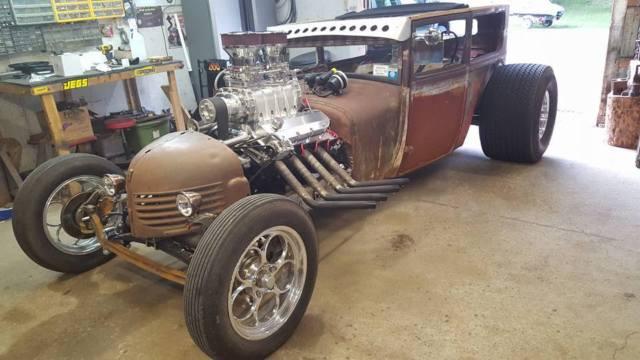 Ford Model T Sedan Rat Rod Blower Motor For Sale Photos