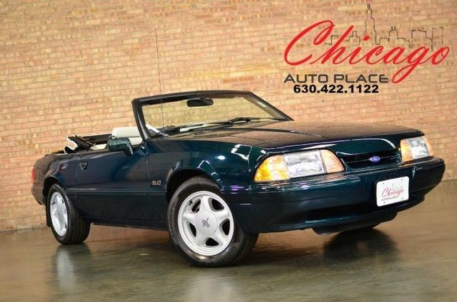 1990 Ford Mustang 11,890 miles 5.0 LX 7-UP EDITION RARE FIND