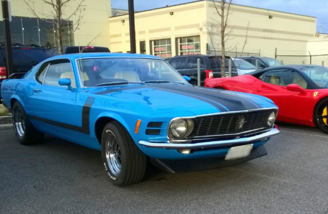 1970 Ford Mustang BOSS 302 G CODE
