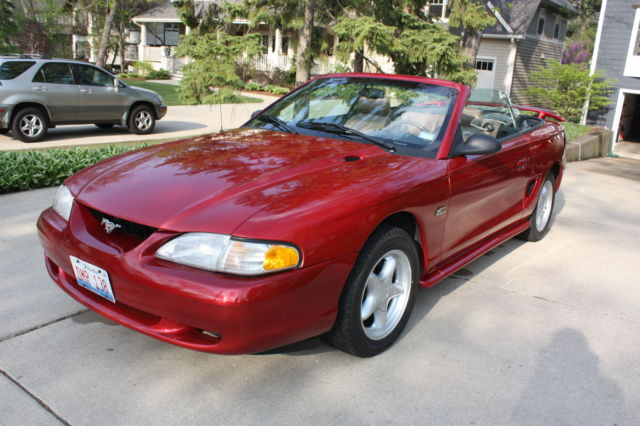 1994 Ford Mustang Convertible GT 5.0