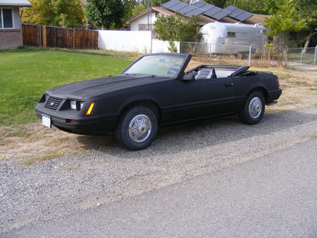 1984 Ford Mustang LX model