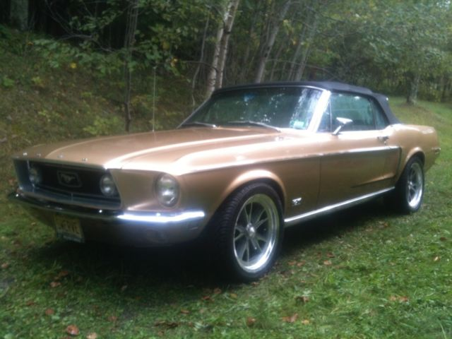 1968 Ford Mustang Gold Bullion