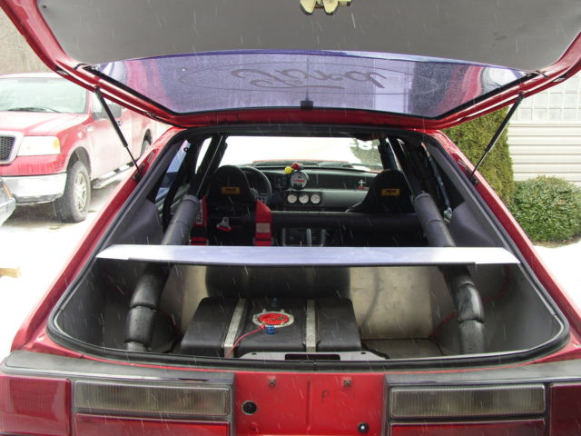 Ford Mustang LX 5 0 Fox body roller drag car  for sale
