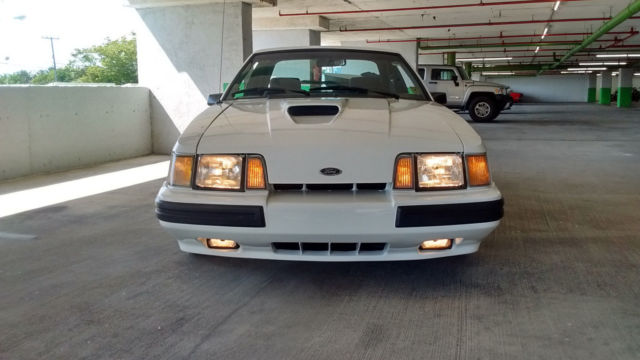 1986 Ford Mustang SVO NOS PARTS SHARP CONDITION 1 OF 561