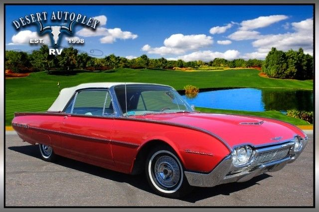 1961 Ford Thunderbird Convertible Extra Clean