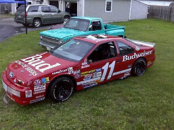 Ford thunderbird street legal sc bill elliott race replica - Replica mobel legal ...