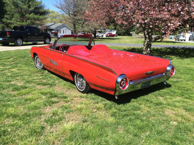 1963 Ford Thunderbird M Roadster clone