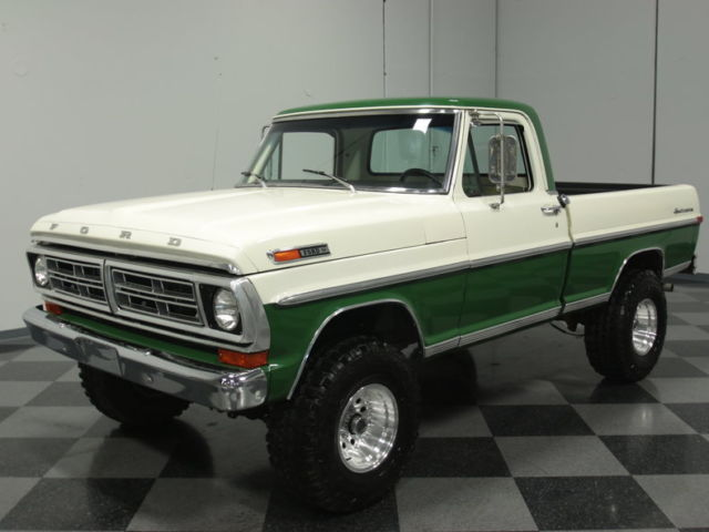 1972 Ford F-100 4X4