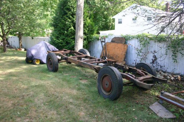 Ford Truck 1948 F3 Rolling Frame For Sale Photos