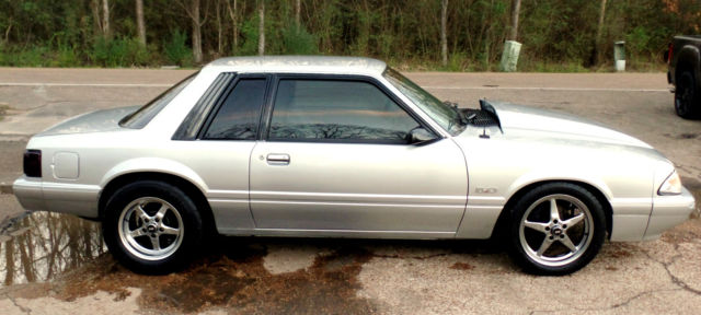 1987 Ford Mustang MUSTANG 5.0 NOTCH BACK TRUNK LX FOX BODY