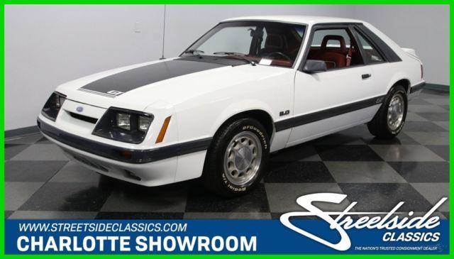 17be6f8528bd17 foxbody 302 fomoco classic vintage retro white red black stripes alloy  wheels GT