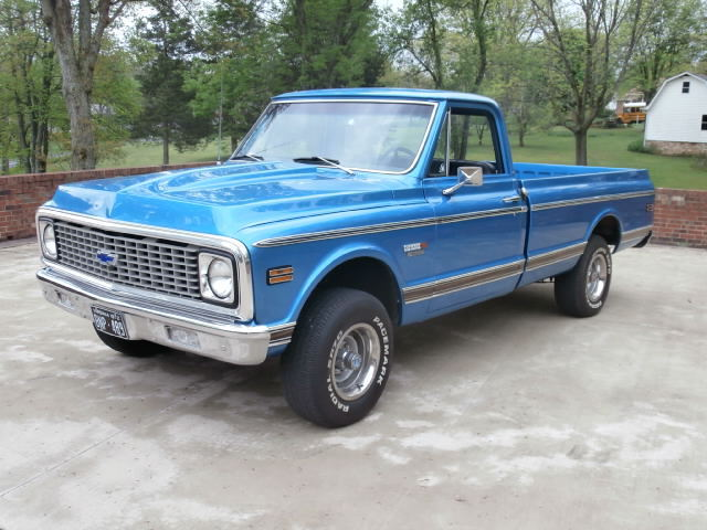 72 Chevy Truck For Sale