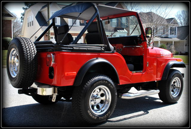Frame-off Restored 1980 Jeep Cj5 Renegade