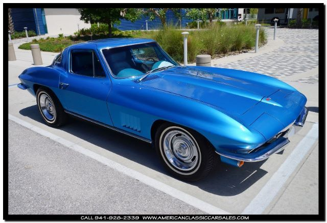 1967 Chevrolet Corvette A/C Powerglide