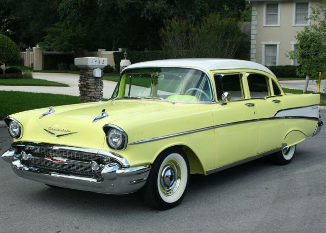1957 Chevrolet Bel Air/150/210 210 - FRAME OFF RESTOMOD - 8K MI