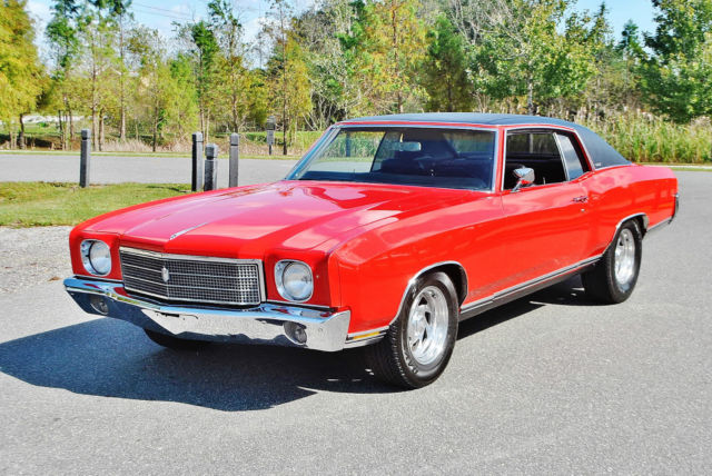 1970 Chevrolet Monte Carlo Full frame off must be seen driven sweet.