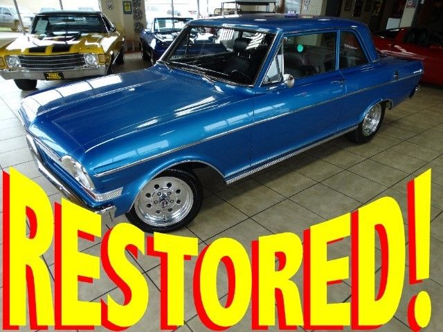 fresh restoration 1962 chevy ii nova 350 hp 327 auto new paint int 62 63 64 65 for sale photos. Black Bedroom Furniture Sets. Home Design Ideas