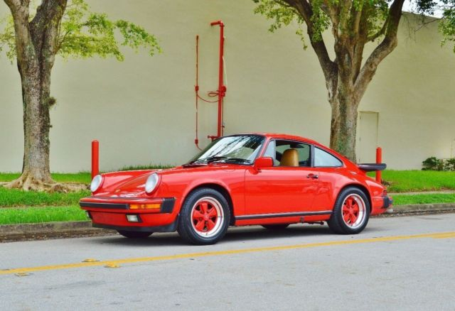 1988 Porsche 911 Carrera Coupe G50 Manual