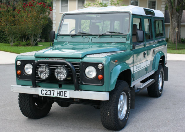 1985 Land Rover Defender 110 COUNTY 4X4 - RIGHT HAND DRIVE - TWO OWNER