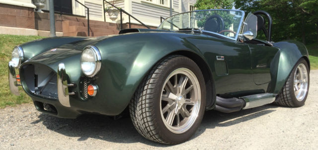 1965 Shelby Cobra Factory Five customized with multiple options