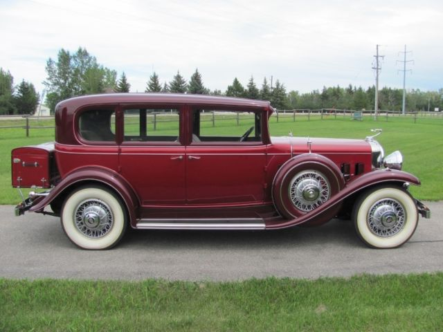 1931 Cadillac Series 355 Eight 5 Passenger Sedan