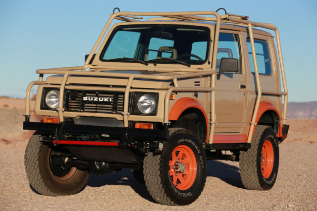 1989 Suzuki Samurai FULL CUSTOM TIN TOP TURBO DIESEL BY FAMOUS BUILDER