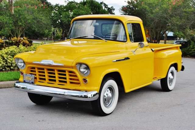1956 Chevrolet Other Pickups 3600 Stepside Beautiful Frame-Off Restored 4-Speed