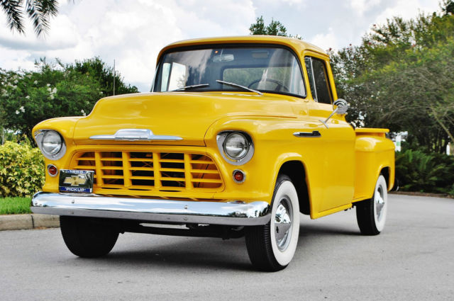 1956 Chevrolet C/K Pickup 3500 Stunning bumper to bumper cold a/c wow.