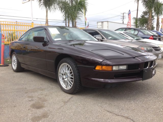 1994 BMW 8-Series 2dr Coupe Au