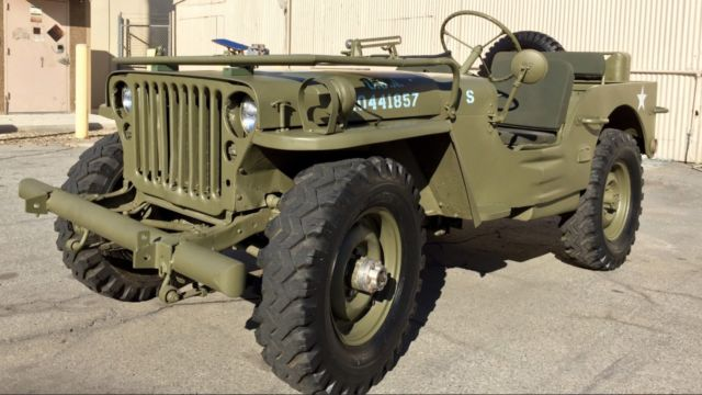 Fully Restored 1950 Ford Gpw World War Ii Military Jeep For Sale
