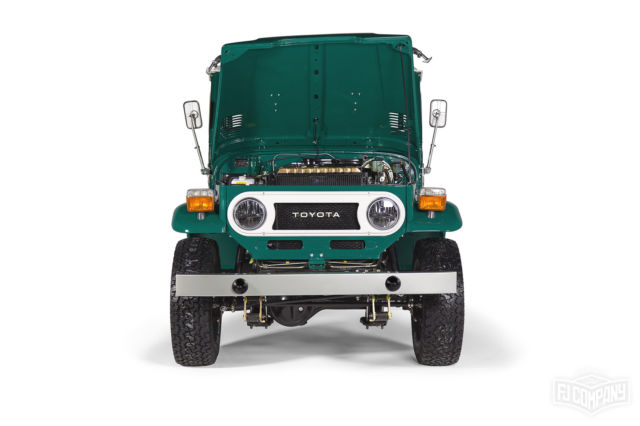 Fully Restored 1978 Toyota Land Cruiser FJ40 Rustic Green For Sale Photos Technical Specifications Description