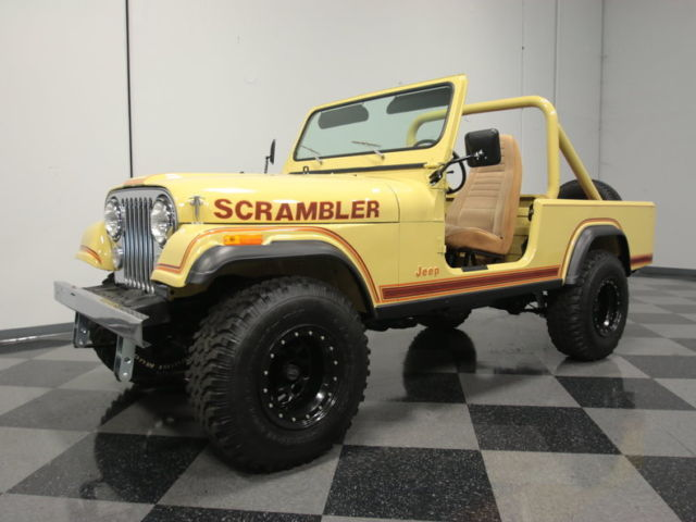 1981 Jeep CJ Base Sport Utility 2-Door