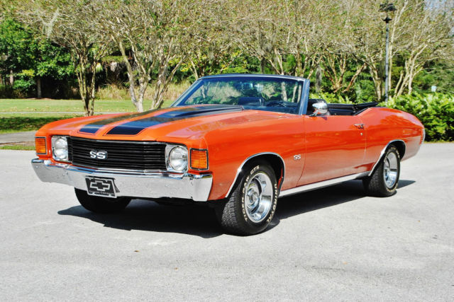 1972 Chevrolet Chevelle Amazing example that must be seen driven wow