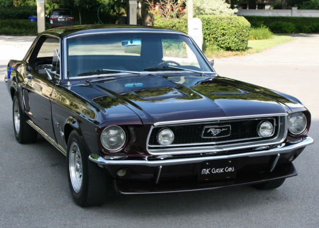 1968 Ford Mustang COUPE - RESTORED - 1K MILES