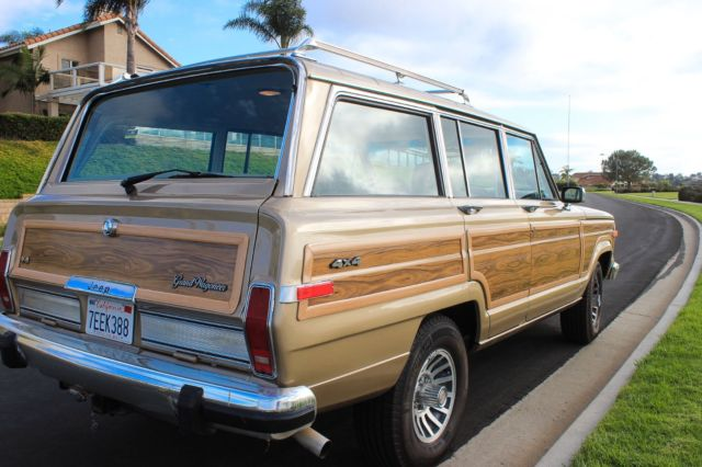 fully restored emaculate 1990 jeep grand wagoneer for sale photos. Cars Review. Best American Auto & Cars Review