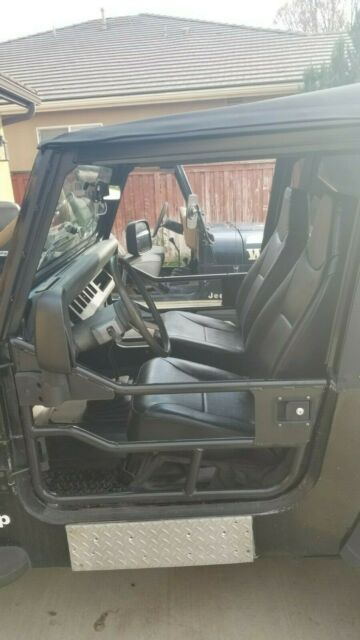 fully restored mint 1990 jeep wrangler 2 5l 5 spd for sale photos technical specifications. Black Bedroom Furniture Sets. Home Design Ideas