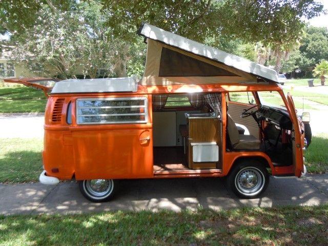 Fully Restored Westfalia Pop Top Camper For Sale Photos