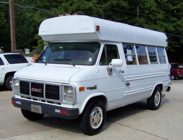 1991 GMC Savana 1-OWNER BUS CHURCH MOBILE OFFICE HIGH TOP WAGON