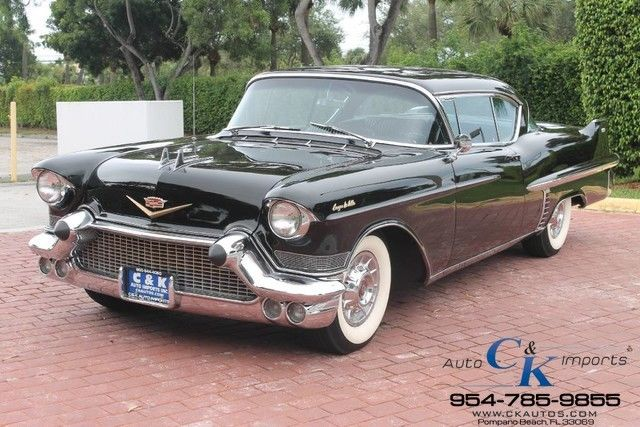 1957 Cadillac DeVille FULL RESTORATION FLAWLESS VEHICLE LIKE NEW VERY RARE